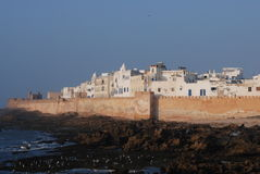 Essaouira Town & Coastline Royalty Free Stock Photos