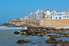 Essaouira. View of medina of Essaouira in Morocco on the Atlantic coast, North Africa. The old part of town is the UNESCO world heritage sites Stock Images