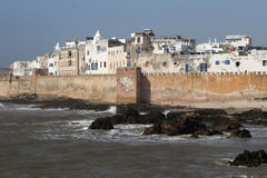Essaouira white walls Royalty Free Stock Photo