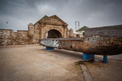 essaouiramorocco för 3 stad gammal portugis Arkivfoto