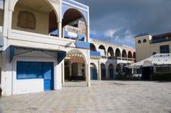essaouiramorocco fyrkantig town Arkivbilder