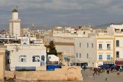 essaouria摩洛哥老城镇 库存图片