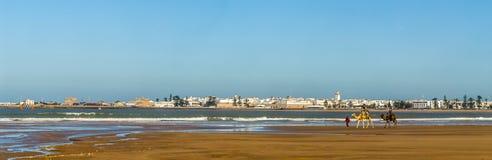 Essaouria linia horyzontu Zdjęcie Royalty Free