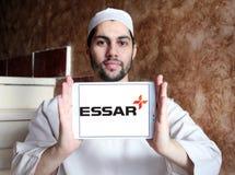Essar小组商标 免版税库存照片