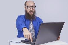 Essayez de faire le risque - homme d'affaires (les séries) Photographie stock libre de droits