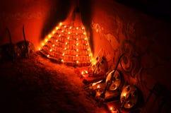 Esse com Kalaripayattu Imagens de Stock Royalty Free