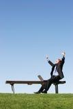 Esse momento do sucesso Foto de Stock