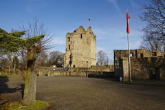 Essen-Burgaltendorf - Castle ruin Altendorf Royalty Free Stock Photo