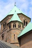 Essen Cathedral, Germany. Essen - city in Ruhrgebiet (Ruhr Metropolitan Region) in Germany. The Cathedral stock images
