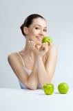 Essen der gesunden Nahrung Lizenzfreie Stockbilder