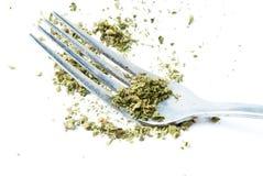 Essen der Marihuana-, medizinischer und entspannenderArzneimittelindustrie in Amerika Stockfotos