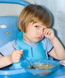 Essen des Kindes Lizenzfreies Stockbild