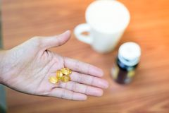 Essen des Vitamins stockfotografie