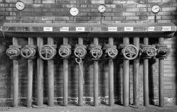 Zeche Zollverein, Essen, Germany. ESSEN, GERMANY - APRIL 7, 2019: Detail image of Zeche Zollverein, industrial heritage of Germany on April 7, 2019 in Essen stock photos