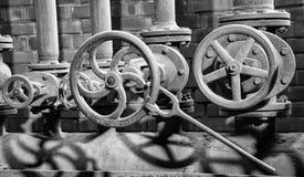 Zeche Zollverein, Essen, Germany. ESSEN, GERMANY - APRIL 7, 2019: Detail image of Zeche Zollverein, industrial heritage of Germany on April 7, 2019 in Essen stock photo