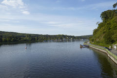 Essen (Germany) - Lake Baldeney (Baldeneysee) Royalty Free Stock Photography
