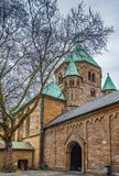 Essen Minster, Germany. Essen Minster or Essen Cathedral. The minster was formerly the collegiate church of Essen Abbey, Germany stock images