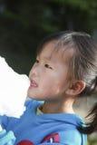 Essen Sie die chinesische Frau von Zuckerwatte 04 Lizenzfreies Stockbild