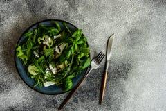 Essen Sie grünes Konzept stockfotografie