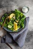 Essen Sie grünes Konzept lizenzfreie stockbilder