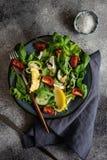 Essen Sie grünes Konzept stockfoto