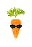 Essen Sie Ihr organisches Gemüse und seien Sie kühl lizenzfreie stockfotografie