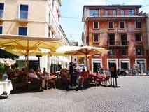 Essen Sie in Verona, Italien Lizenzfreie Stockfotografie