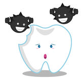 essen Sie Zähne Lizenzfreies Stockbild