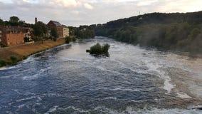 Essen Werden. In Northrhein Westfalia at the Baldeneysee Royalty Free Stock Photo