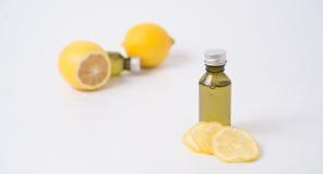essence de citron Photos stock
