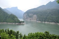 Essence scénique de la Chine le fleuve Yangtze Three Gorges photos libres de droits