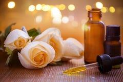 Essentiële Aromatherapy stock fotografie