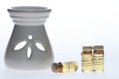 Essentiële oliën Royalty-vrije Stock Fotografie