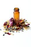 Essentiële oliën Aromatherapy Stock Foto's