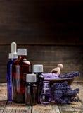 Essentiële olie Stock Fotografie