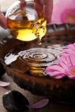 Essentiële olie voor aromatherapy stock foto's