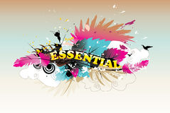 Essential abstract illustration Stock Photography
