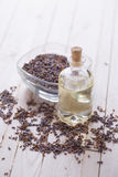 Essential aroma oil Royalty Free Stock Images