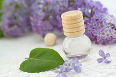 Essential aroma oil Stock Images