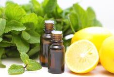 Essential aroma oil Stock Image