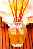 Essential or aromatherapy oils Royalty Free Stock Photo