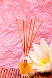 Essential or aromatherapy oils Royalty Free Stock Photos