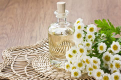 Essential aromatic oil Royalty Free Stock Images