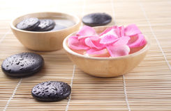 Essential bath stock images