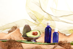 Essential fat oils royalty free stock photo