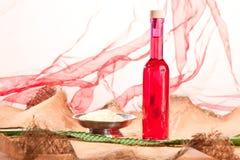 Essential fat oils Stock Image