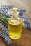Essential lavender oil Royalty Free Stock Image