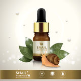 Essential oil ad template royalty free illustration