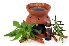 Essential oil diffuser royalty free stock photography