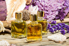 Essential oil or perfume Royalty Free Stock Photos